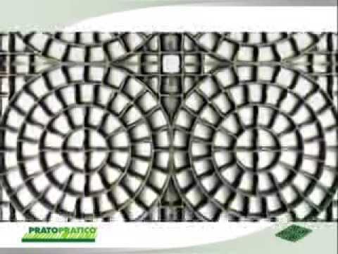 Pratopratico® - Kratka do podjazdów z wykończeniem żwirowym lub trawiastym