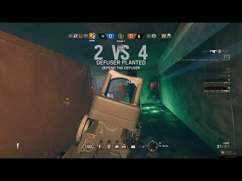 Tom Clancy's Rainbow Six Siege: Playing Red Light/Green Light