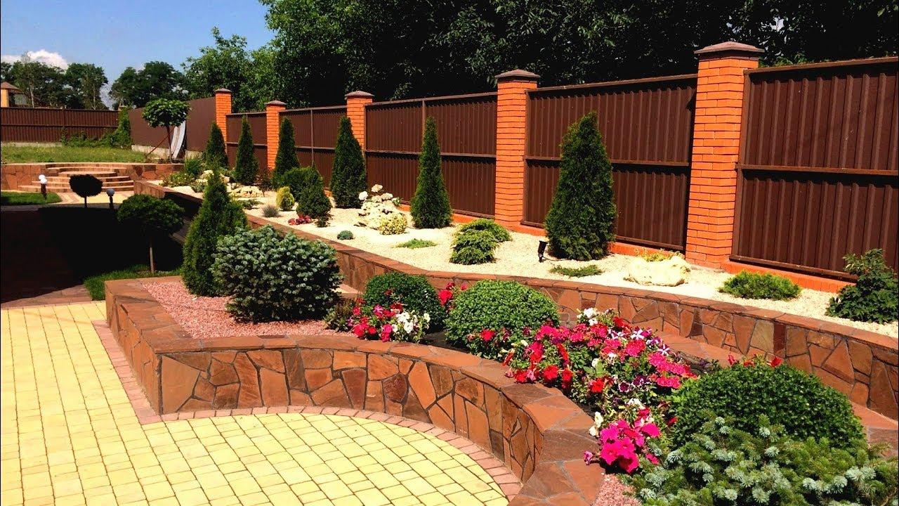 71 Оригинальная идея для украшения садового участка / Landscaping Ideas for the Garden / A - Video