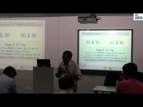RMIT 2014 - Prof.  Y Narahari, IISc, Bangalore