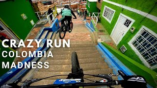 CRAZY Urban Downhill track! GNARLY riding in Ciudad Bolivar Course Preview | Bogota, Colombia