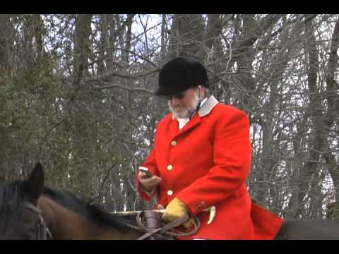 A DAY OF FOXHUNTING (CHASING) IN MARYLAND WITH THE GOSHEN HOUNDS