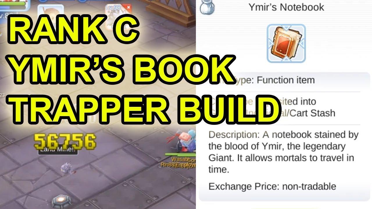 Rank C, Ymir's Book and Trapper Sniper Build - ROM Eternal Love (SEA)