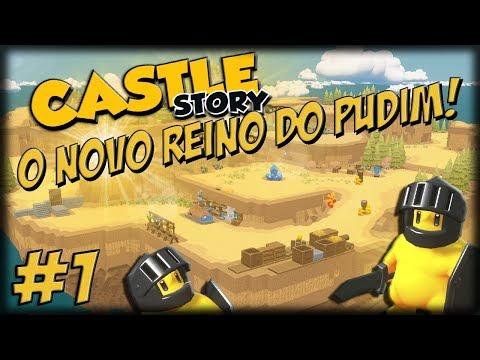 Castle Story 1.1 - O Novo Reino do Pudim - Ep 1 - Chegando no Grande Deserto!!