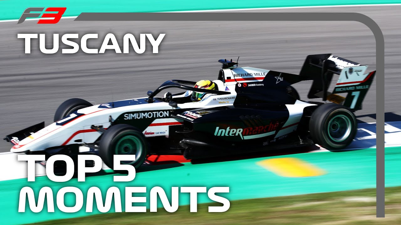 Top 5 Formula 3 Moments | 2020 Tuscan Grand Prix