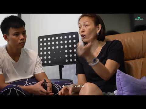 Renovation Singapore | 6 People In A 2 Room Modern Home? (Le Interior Affairs)