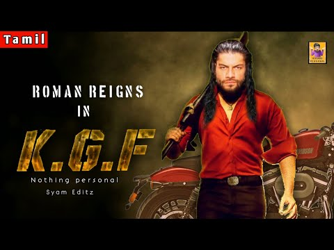 KGF - Dialogues Bgm Mix | Roman Reigns Version | Nothing Personal