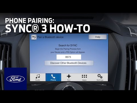 SYNC 3 Phone Pairing | SYNC 3 How-To | Ford