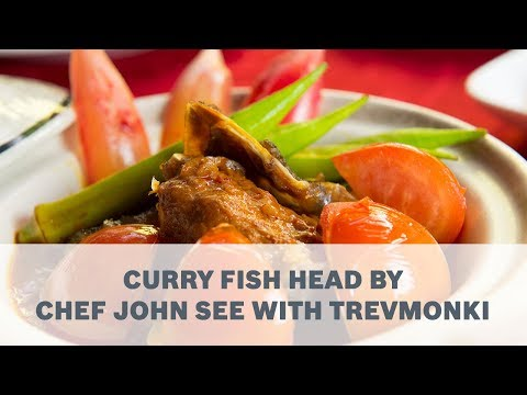 Curry Fish Head Recipe By Chef John See With TrevMonki - Cooking With Bosch
