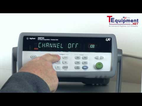 Measuring Rotational Speed, Revolutions Per Minute (RPMs) Using Agilent 34972A