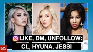 CL, Hyuna, Jessi o Like DM Unfollow MP3