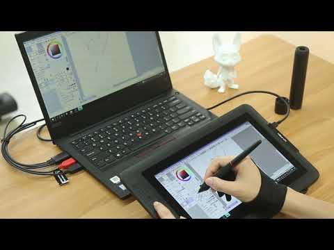 connection&speedpainting:xp-pen-artist-display-12-pro