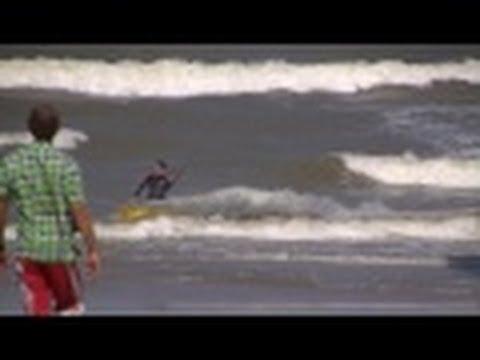 De Haan :   Zentrum, Promenade, Strand + Trammelant [HD Video]