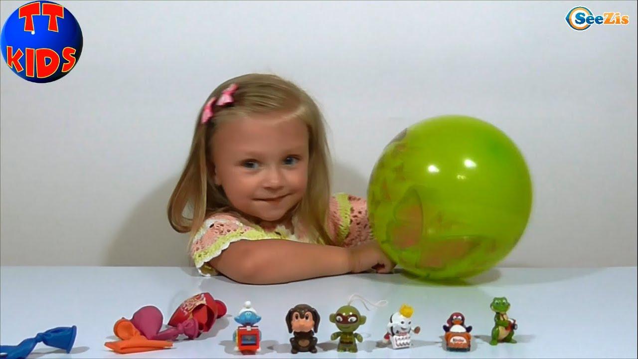 девочки с игрушками видео
