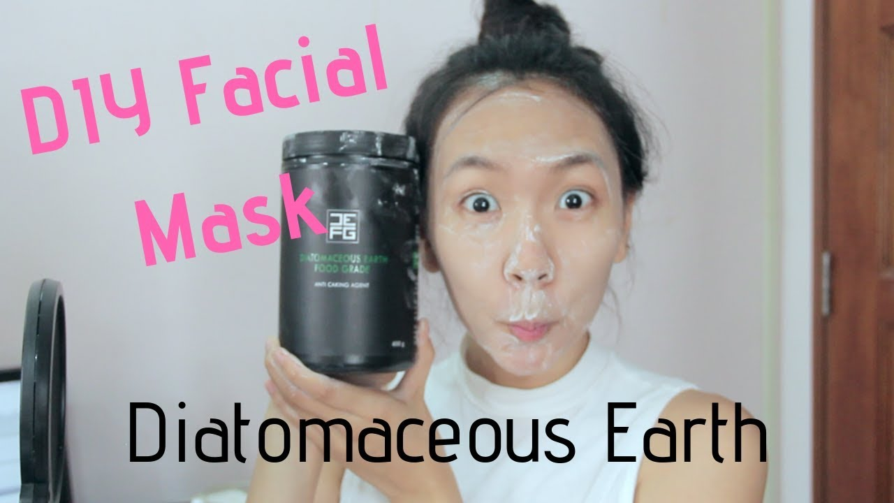 Diatomaceous Earth Diy Facial Mask For Super Smooth Skin Pohchooo Youtube