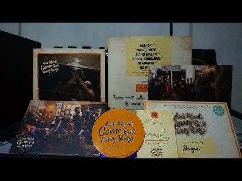"""Unboxing CD Anak Mamih Band """"come Back Fanny Bung"""""""