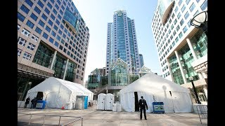 TORONTO'S NEW TENT CITY: COVID cash - helping out others, to help themselves