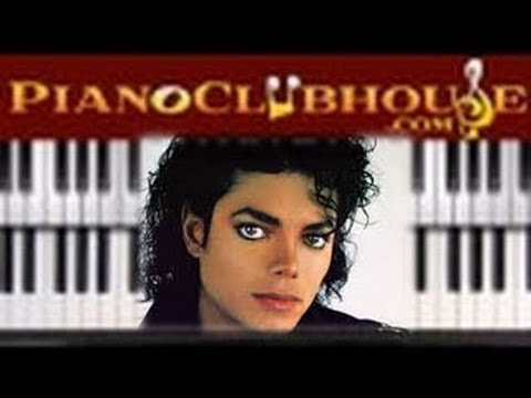 How To Play Pyt Michael Jackson Piano Tutorial Lesson