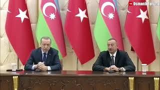 Erdoğan ve Aliyev Resmen Dünyaya Meydan Okuyor Türkiye ve Azerbaycan