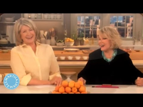 The Hilarious Joan Rivers Chats with Martha - Martha Stewart