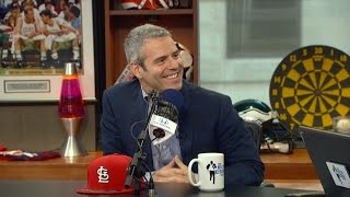 "Host Andy Cohen of ""Andy Cohen's Then & Now"" Joins The RE Show in Studio - 5/10/17"