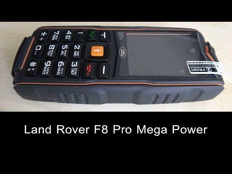 Land Rover F8 Pro Mega Pover кнопочный мобильный телефон с большой емкостью аккумулятора 一种大容量手机