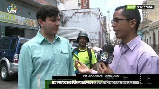 Venezuela - Vecinos de Altagracia protestaron por cortes eléctricos cerca de Miraflores - VPItv
