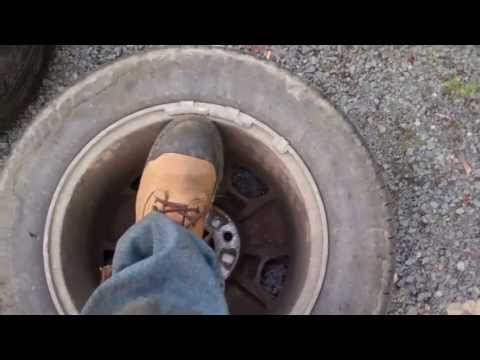 Symptoms of unbalanced tires - YouTube