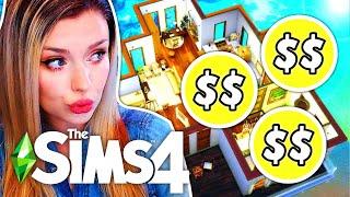 Фото Every Room Is The EXACT SAME PRICE // Sims 4 Build Challenge
