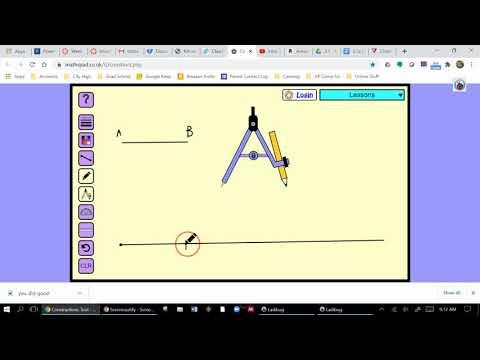 Constructions Homework Using Online Tool