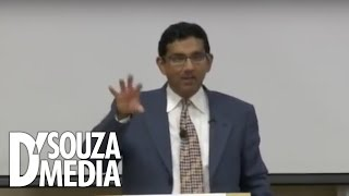 D'Souza Obliterates Leftist Professor During Q&A Session