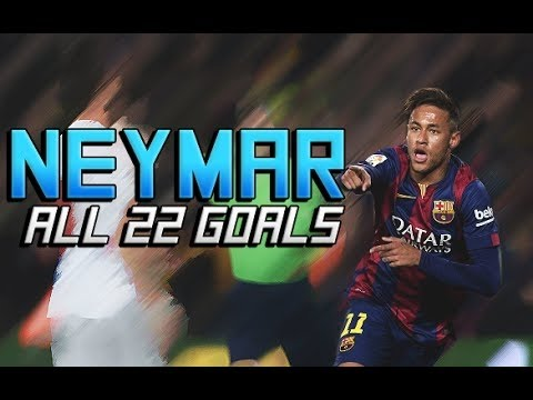 Download Neymar - All 22 Goals - La Liga 2014/15 HD