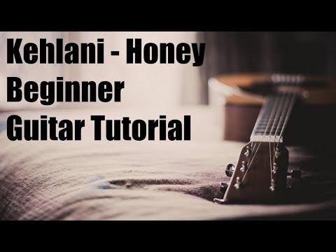 Kehlani - Honey Acoustic Guitar Tutorial for Beginners