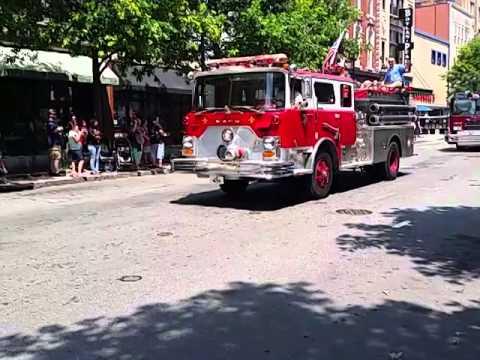 Fireman's Parade Raleigh 2014