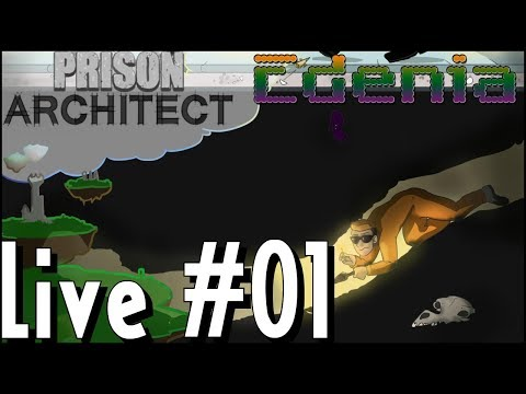Prison Architect ¦ LIVE #01 ¦ Let's Play