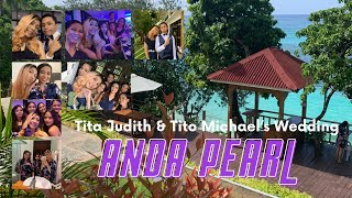 tita judith & tito michael's wedding day @ anda pearl premier resort bohol philippines ♡