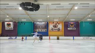 Adult figure skating - 1 year 6 months progress