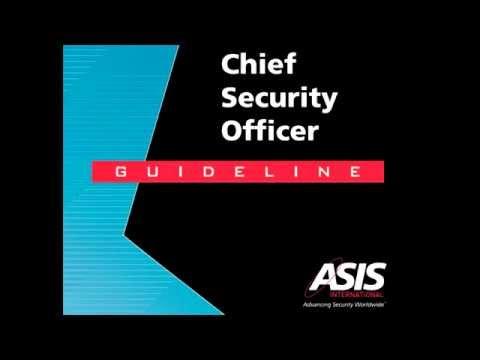 Главный по безопасности. Руководство. Chief Security Officer. Guideline.