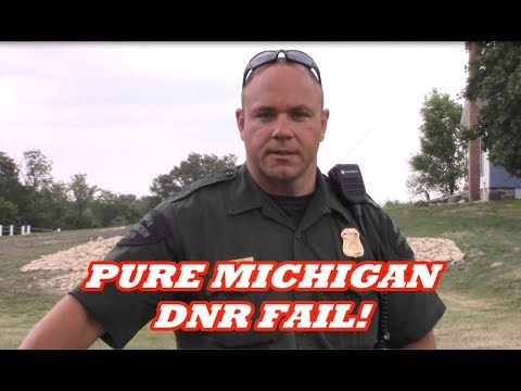 PURE MICHIGAN DNR FAIL!!