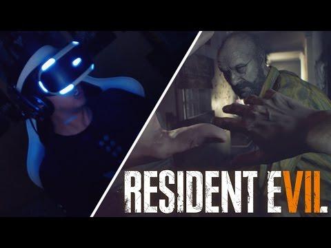 PASANDO MIEDO EN RESIDENT EVIL 7 BIOHAZARD   PlayStation VR   Realidad Virtual