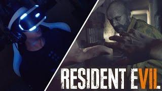 PASANDO MIEDO EN RESIDENT EVIL 7 BIOHAZARD | PlayStation VR | Realidad Virtual