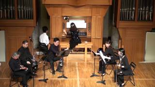 Tielman Susato Renaissance Dances SEYANA Brass ensemble SEYANAブラ...