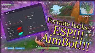 Fortnite AimBot 2019!!! (purple skull trooper with aimbot)