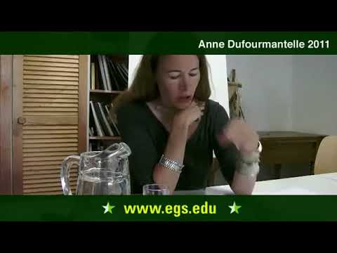 Anne Dufourmantelle. The Philosophy of Sexuality and Body. 2011
