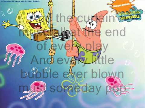 Spongebob Squarepants: The Bubble Song (Lyrics)