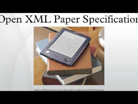 Open XML Paper Specification