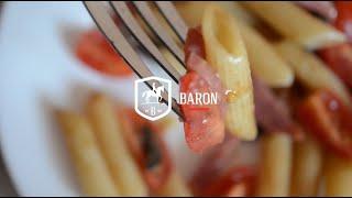 Салат-паста с сервелатом - Рецепты от Baron Food