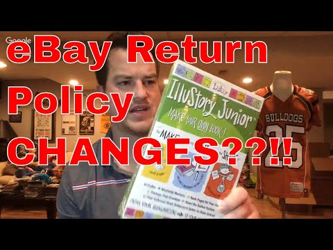 eBay Return Changes and Will It Change My Sales? Small Thrift Haul