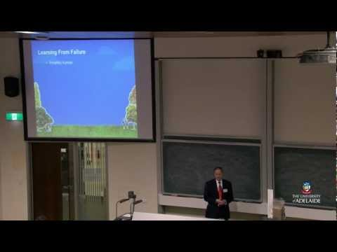 Open Day 2012: Civil, Environmental & Mining Engineering: Learning from Failure