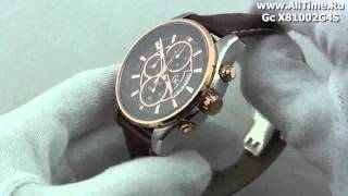 Обзор. Мужские наручные швейцарские часы Gc X81002G4S